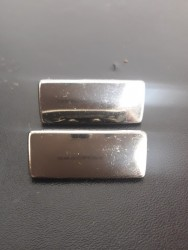 Plaquinha de Metal Modelo 1 1