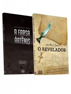 COMBO DESVENDANDO MISTÉRIOS: A Farsa de Ártemis + O Revelador + duas sacolinhas para presentear + frete grátis