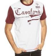 2e484687e6 Camiseta Cavalera Branca Carabina