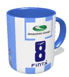 Caneca Paysandu - Camisa 2002 Copa dos Campeões - Porcelana 325 ml 2