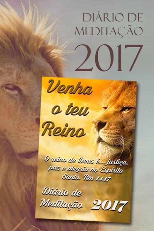 Diário de Meditação 2017 - Venha o Teu Reino