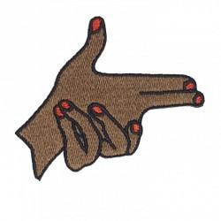 """Patch Mão """"Armada"""" 2"""
