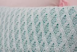 Almofada Retangular de Tricot Tiffany Claro 4