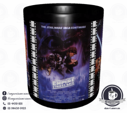 Caneca Clássicos do Cinema - Star Wars (Trilogia Original) - Porcelana 325 ml 2