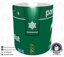 Caneca Palmeiras - Camisa 1999 Libertadores - Porcelana 325 ml 2
