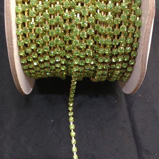Strass Verde Limão 16 - S. M 339