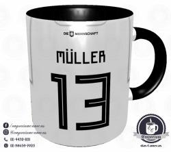 Caneca Alemanha - Camisa Copa do Mundo 2018 - Porcelana 325 ml 3
