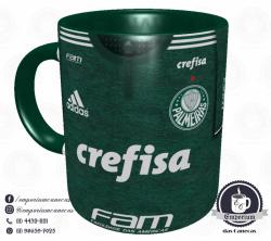 Caneca Palmeiras - Camisa 2018 Home - Porcelana 325ml 1