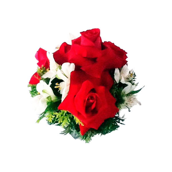 Arranjo de Rosa Vermelha