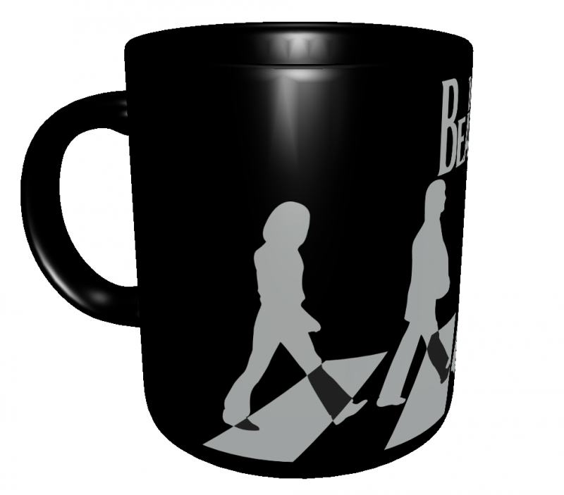 Caneca Bandas Clássicas - The Beatles - Porcelana 325 ml