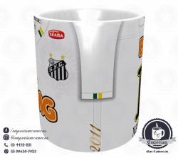 Caneca Santos - Camisa Libertadores 2011 - Porcelana 325ml 2