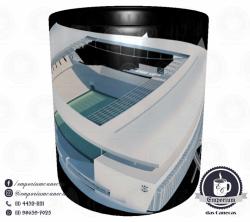 Caneca Arena Corinthians - Preta - Porcelana 325ml 2