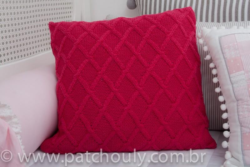 Almofada de Tricot Encanto Chanel
