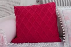 Almofada de Tricot Encanto Chanel 1
