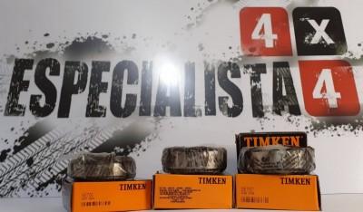 KIT ROLAMENTOS DO DIFERENCIAL TROLLER 02/14 TINKEM