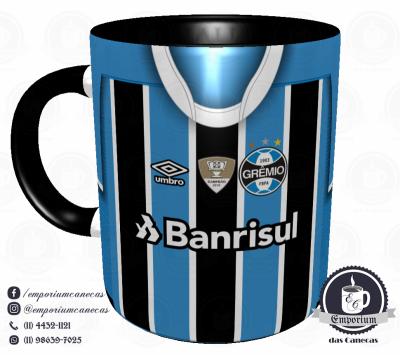 Caneca Grêmio - Camisa 2017 - Porcelana 325ml