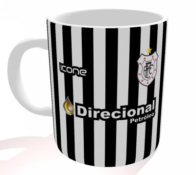 Caneca Americano-RJ - Camisa 2017 Home - Porcelana 325 ml