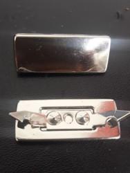 Plaquinha de Metal Modelo 1 2