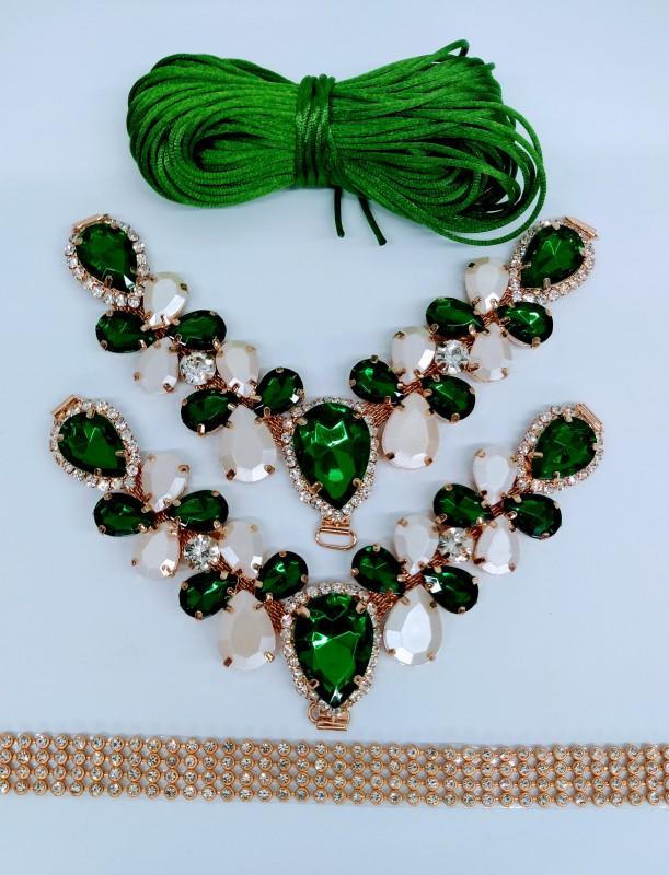 Kit Layka Verde Perolado
