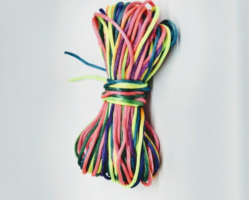 Fio de Seda Multicolorido