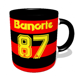 Caneca Sport - Camisa 1987 Campeão Brasileiro - Porcelana 325 ml 2