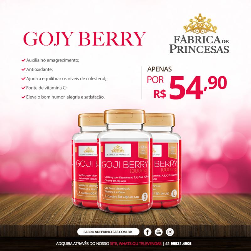 Goji Berry - 1000ml - 1 mês de tratamento