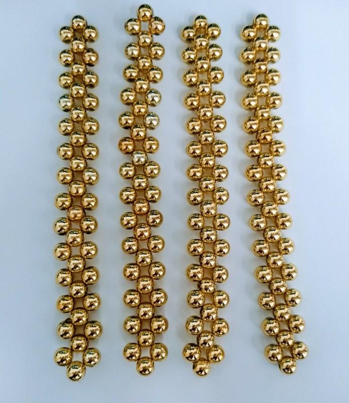 Trama Perola Dourado Dourado