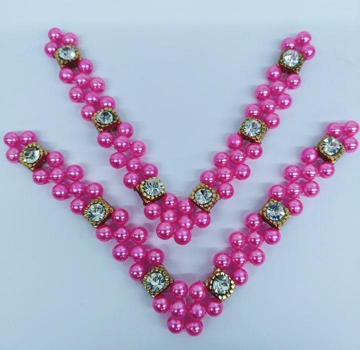 Trama Rainha Vitoria Infantil Rosa Neon