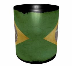 Caneca Brasil - Grunge 2