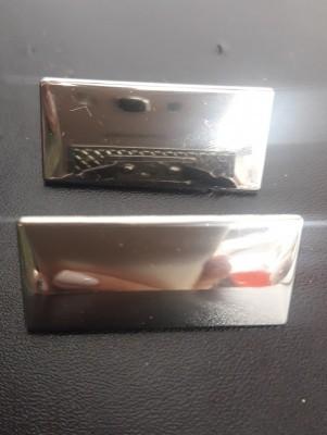 Plaquinha de Metal Modelo 2