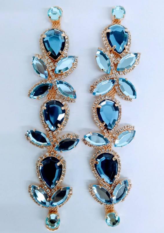 Lateral Luxuosa Azul