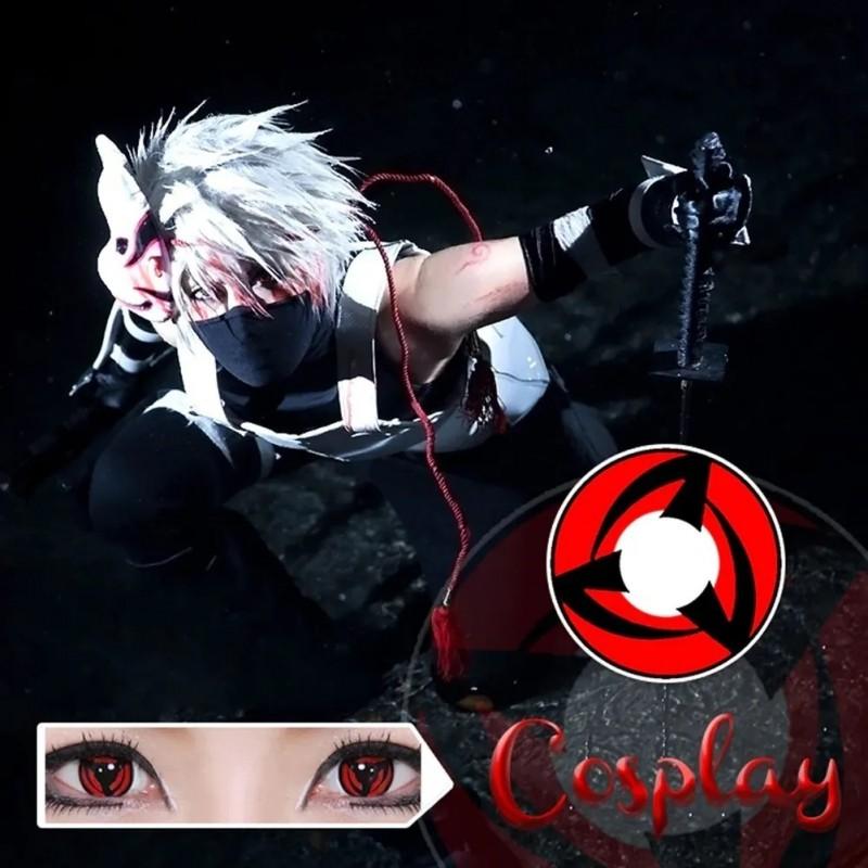 Lentes de Contato Cosplay Naruto