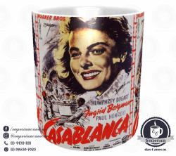 Caneca Clássicos do Cinema - Casablanca - Porcelana 325 ml 2