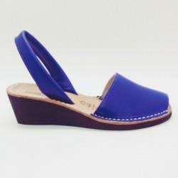 Anabela Couro Azul Klein 33 2