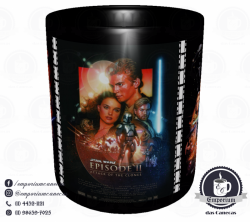 Caneca Clássicos do Cinema - Star Wars (Trilogia Prequela) - Porcelana 325 ml 2