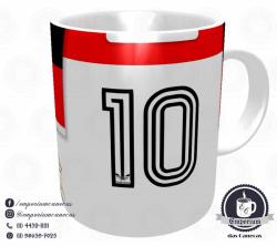 Caneca Flamengo - Camisa 1981 Campeão Mundial de Clubes - Porcelana 325 ml 3