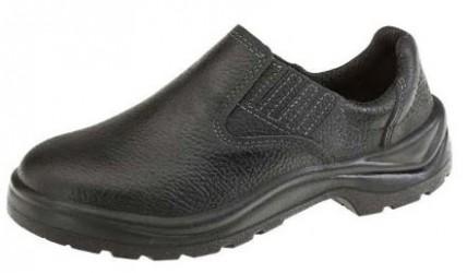 Sapato em Couro de Segurança com ELÁSTICO 1