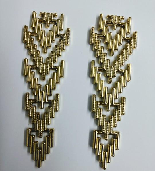 Foguete Dourado ABS