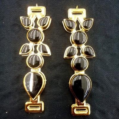 Gota ABS Dourado/Preto - G.A 061