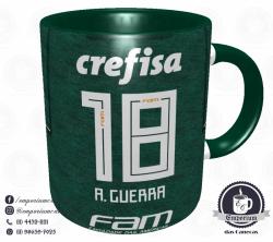 Caneca Palmeiras - Camisa 2018 Home - Porcelana 325ml 3