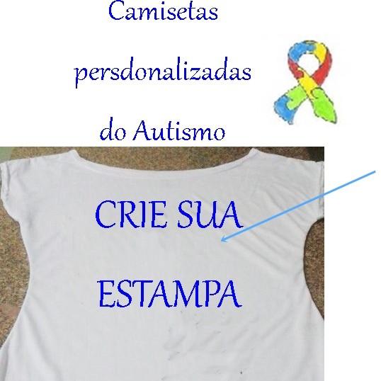 8abf65995 Carregando Zoom. Camisetas Personalizadas do Autismo cor branca 1  Camisetas  Personalizadas do Autismo cor branca 2 ...