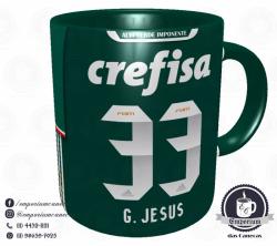 Caneca Palmeiras - Camisa 2016 Brasileirão - Porcelana 325 ml 3