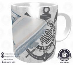 Caneca Arena Corinthians - Branca - Porcelana 325ml 1