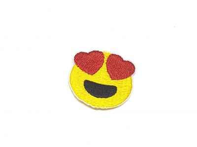 Patch Emoji Love Menor