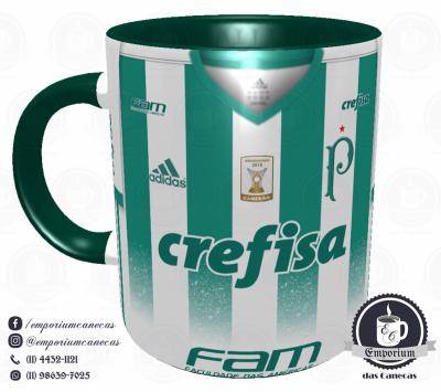 Caneca Palmeiras - Camisa 2017 Away - Porcelana 325ml