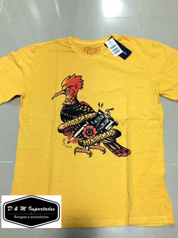 463662ce6a Camiseta Reserva Pica-pau Tatoo