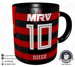 Caneca Flamengo - Camisa 2018 Home - Porcelana 325 ml 3