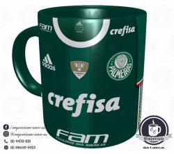 Caneca Palmeiras - Camisa 2016 Brasileirão - Porcelana 325 ml 1