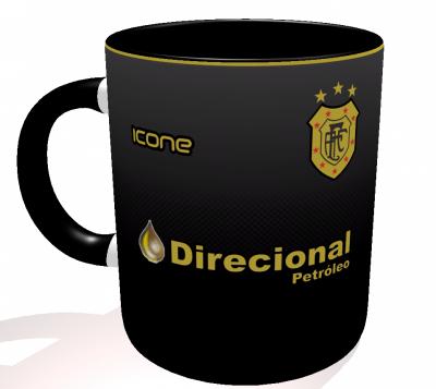 Caneca Americano-RJ - Camisa 2017 Third - Porcelana 325 ml