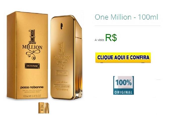 90c623583 Perfume One Million Masculino Eau de Toilette 100ml - Paco Rabanne